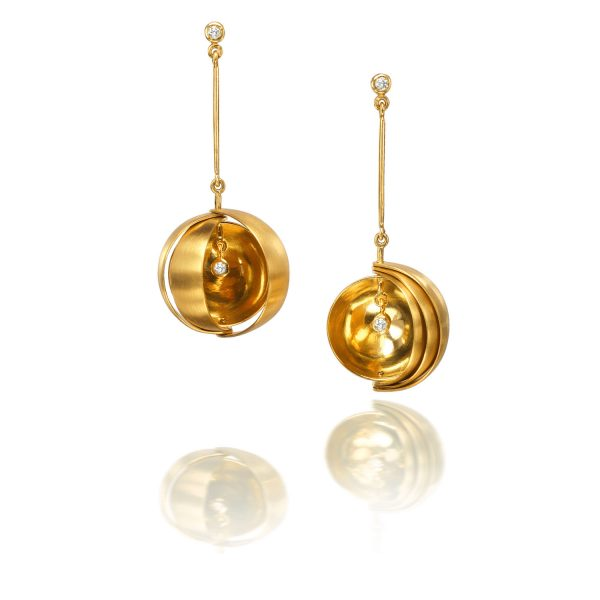 Observatory Earrings by Rose Carvalho