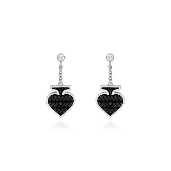 Spade Earrings by Raliegh Goss