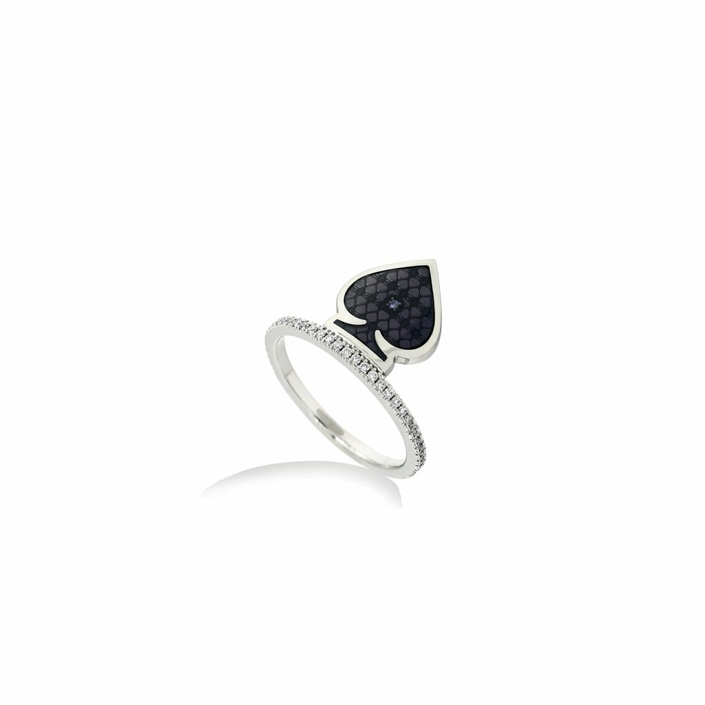 Spade Ring by Raliegh Goss
