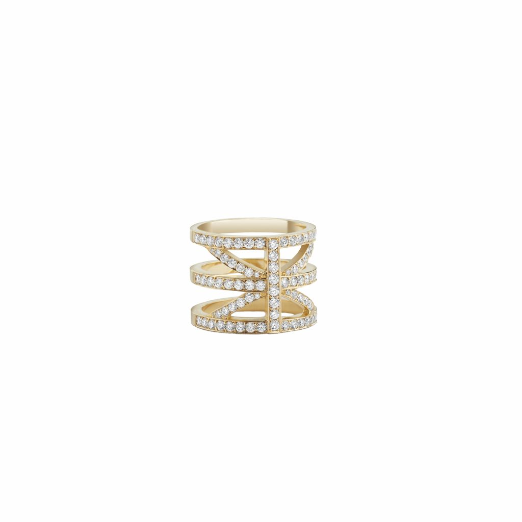 A Hint of Britain Ring by Sandrine de Laage