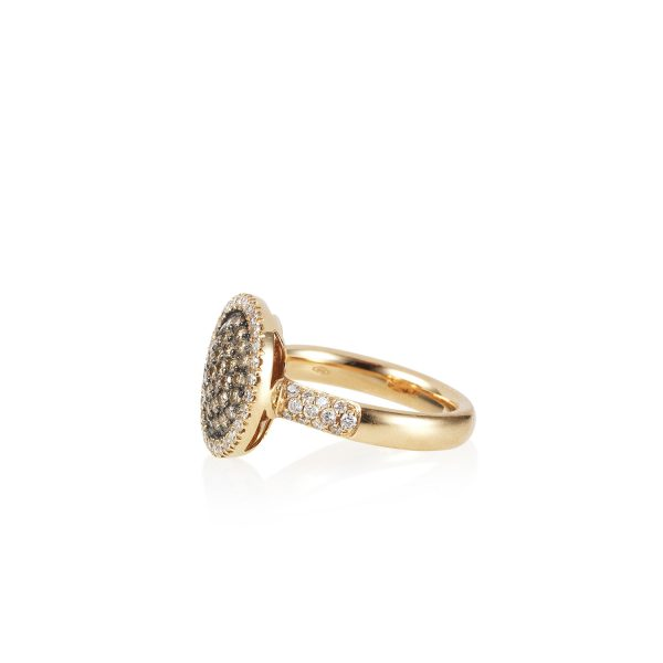 Venezia Rose Gold Medium Ring by Olivia Grace