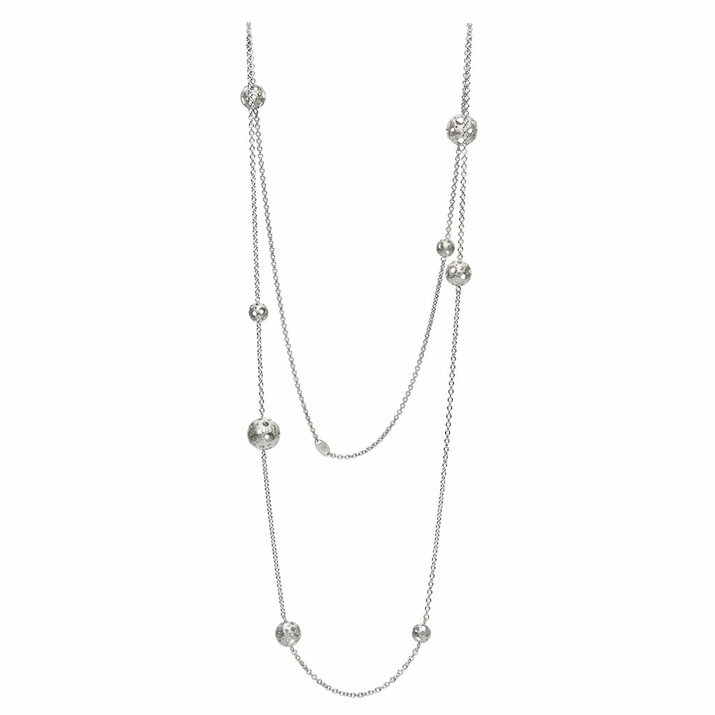 Full Moon Long Necklace by Muscari