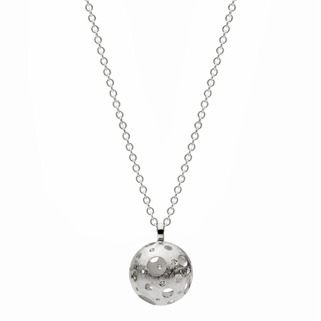 Full Moon Single Necklace