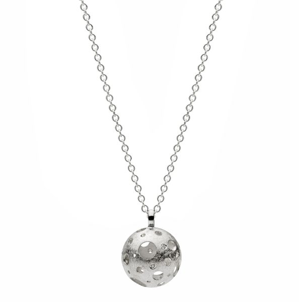 Full Moon Single Necklace by Muscari