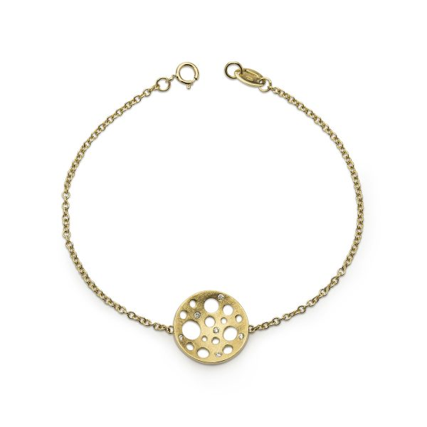 Golden Round Bracelet