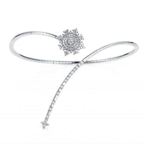 Petite Tsarina White Gold Bracelet by Nadine Aysoy