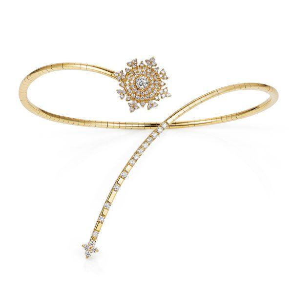Petite Tsarina Gold Bracelet by Nadine Aysoy