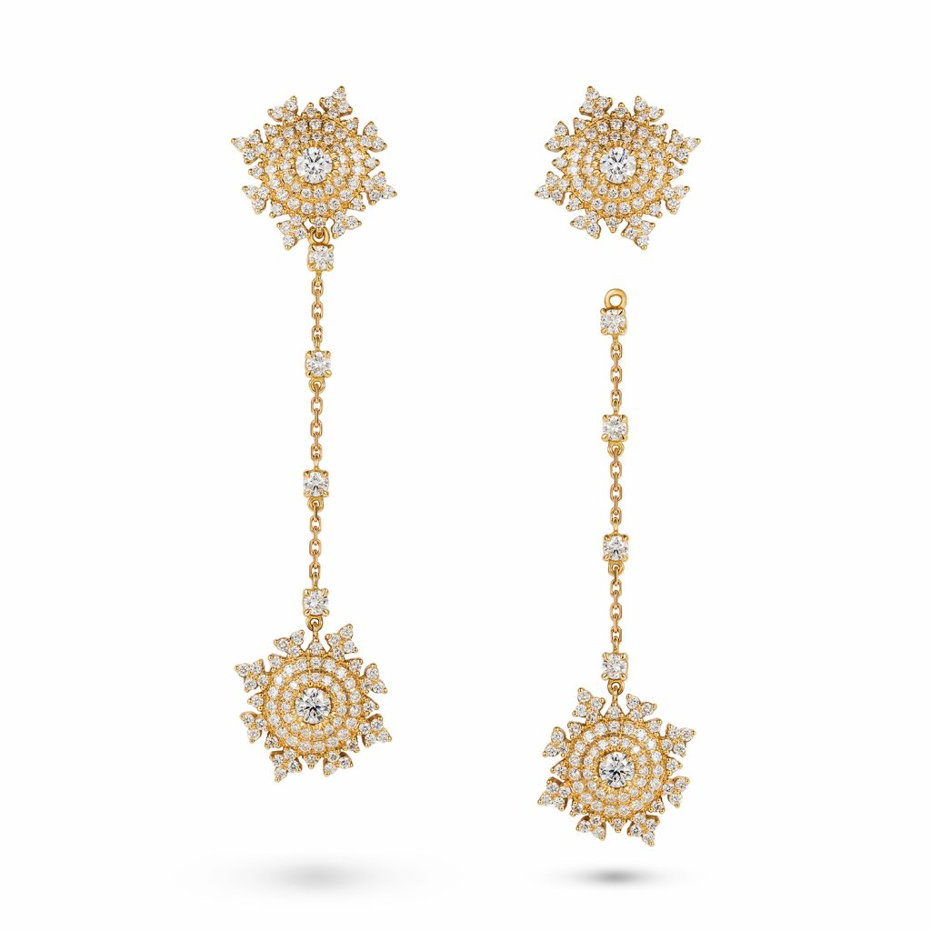 Petite Tsarina Gold Earrings by Nadine Aysoy