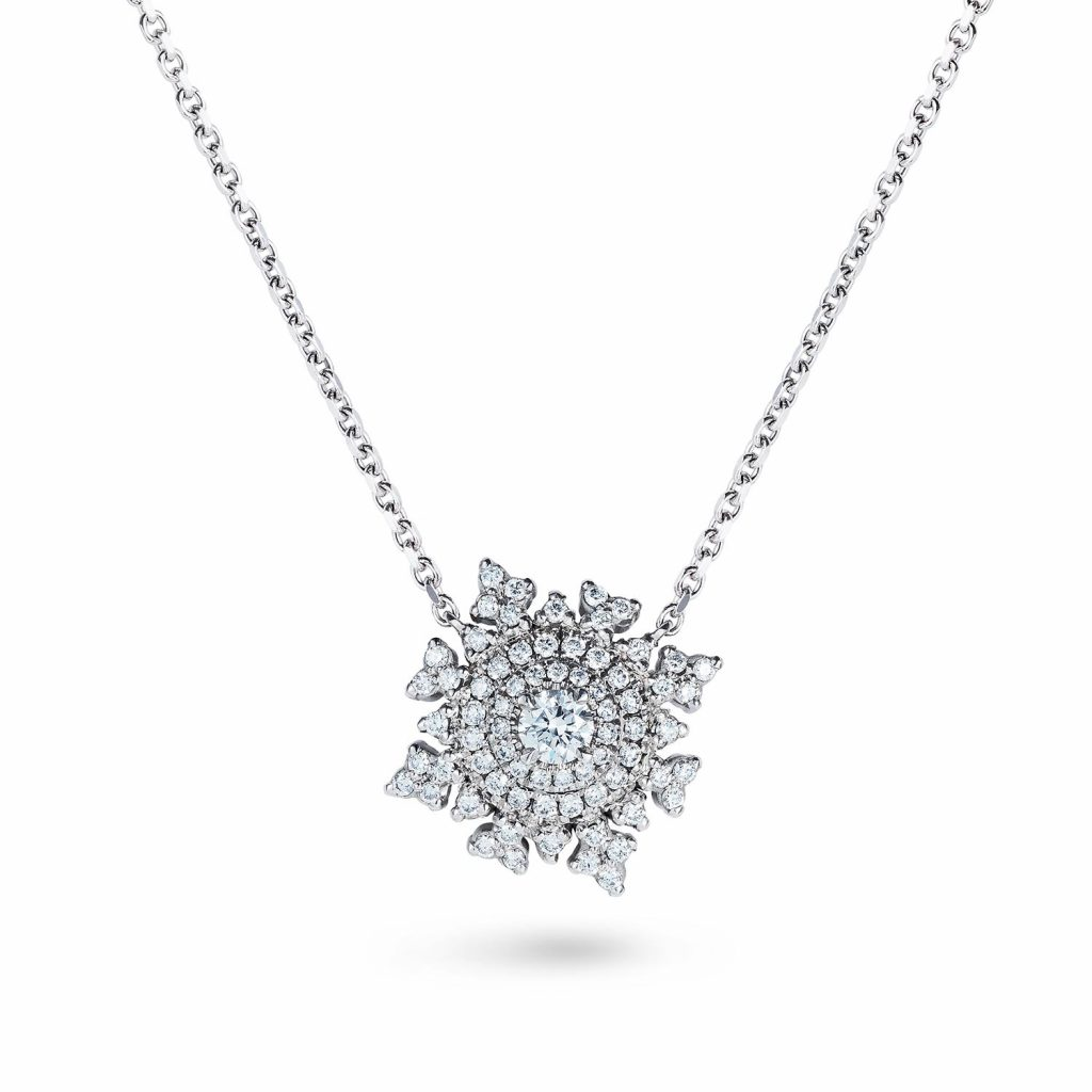Petite Tsarina White Gold Necklace by Nadine Aysoy
