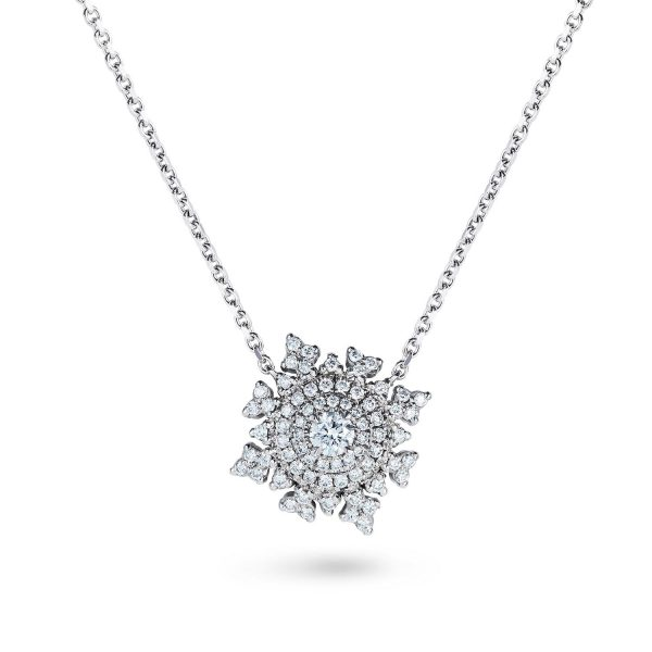Petite Tsarina White Gold Necklace by Nadine Aysoy