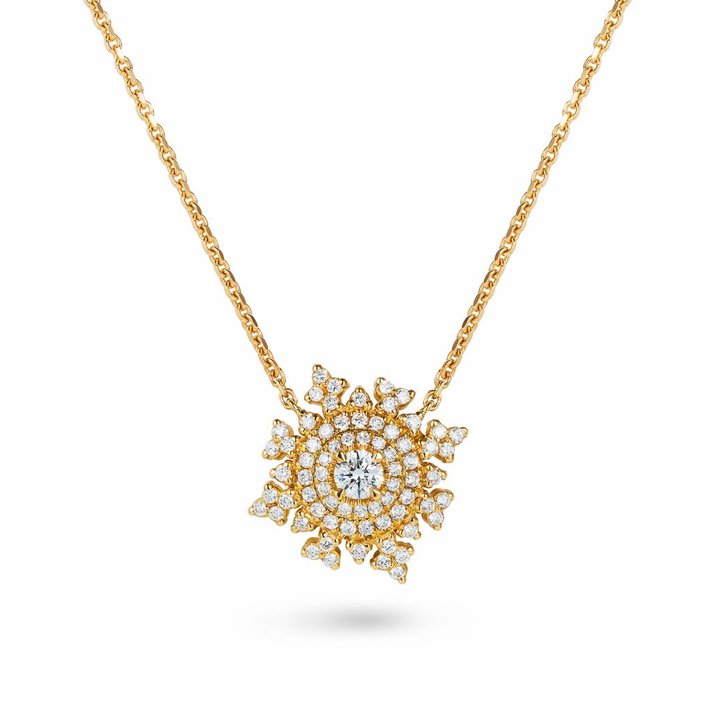 Petite Tsarina Gold Necklace by Nadine Aysoy