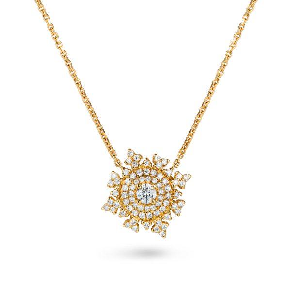 Petite Tsarina Gold Necklace by Nadine Aysoy