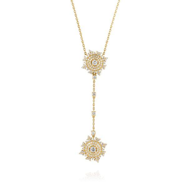 Petite Tsarina Gold Detachable Pendant by Nadine Aysoy