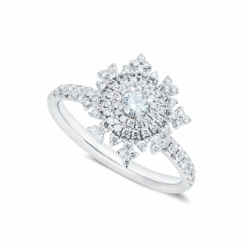 Petite Tsarina White Gold Ring by Nadine Aysoy