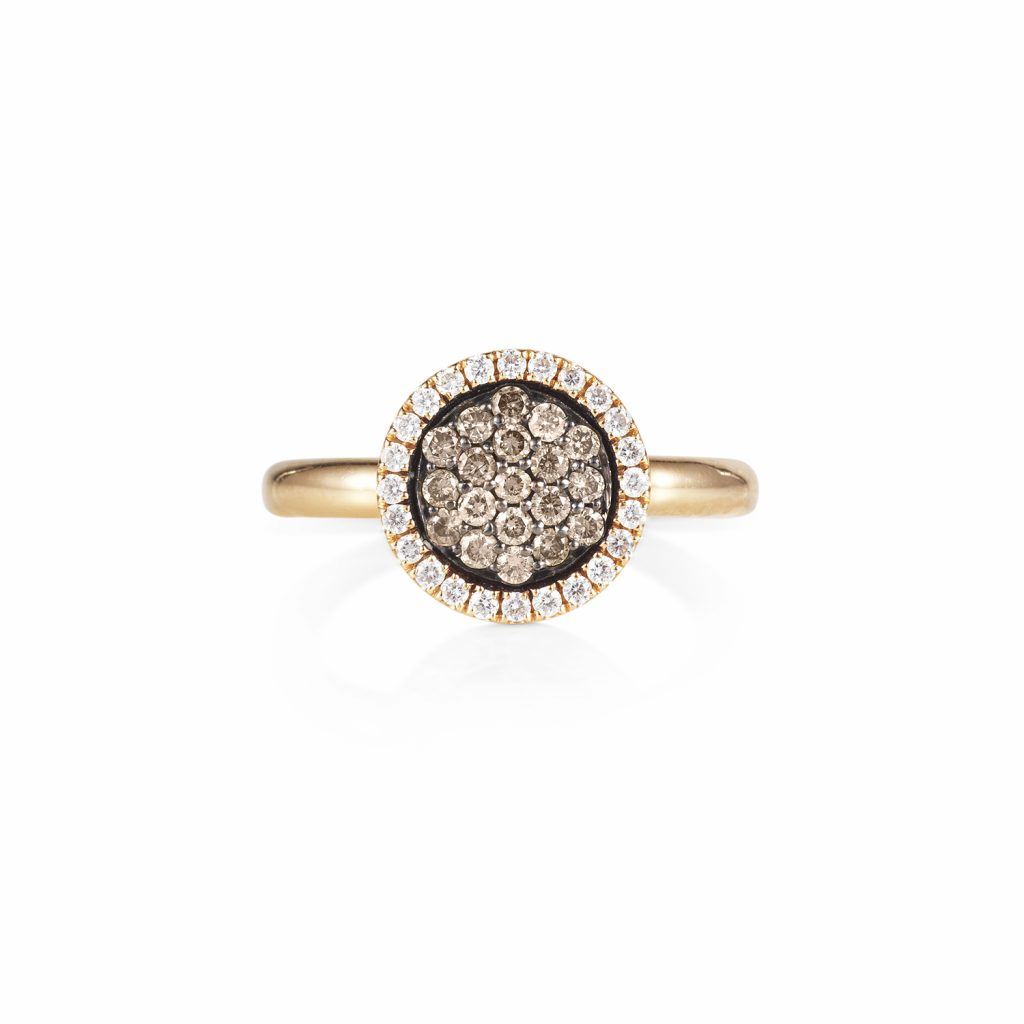 Venezia Rose Gold Small Ring by Olivia Grace