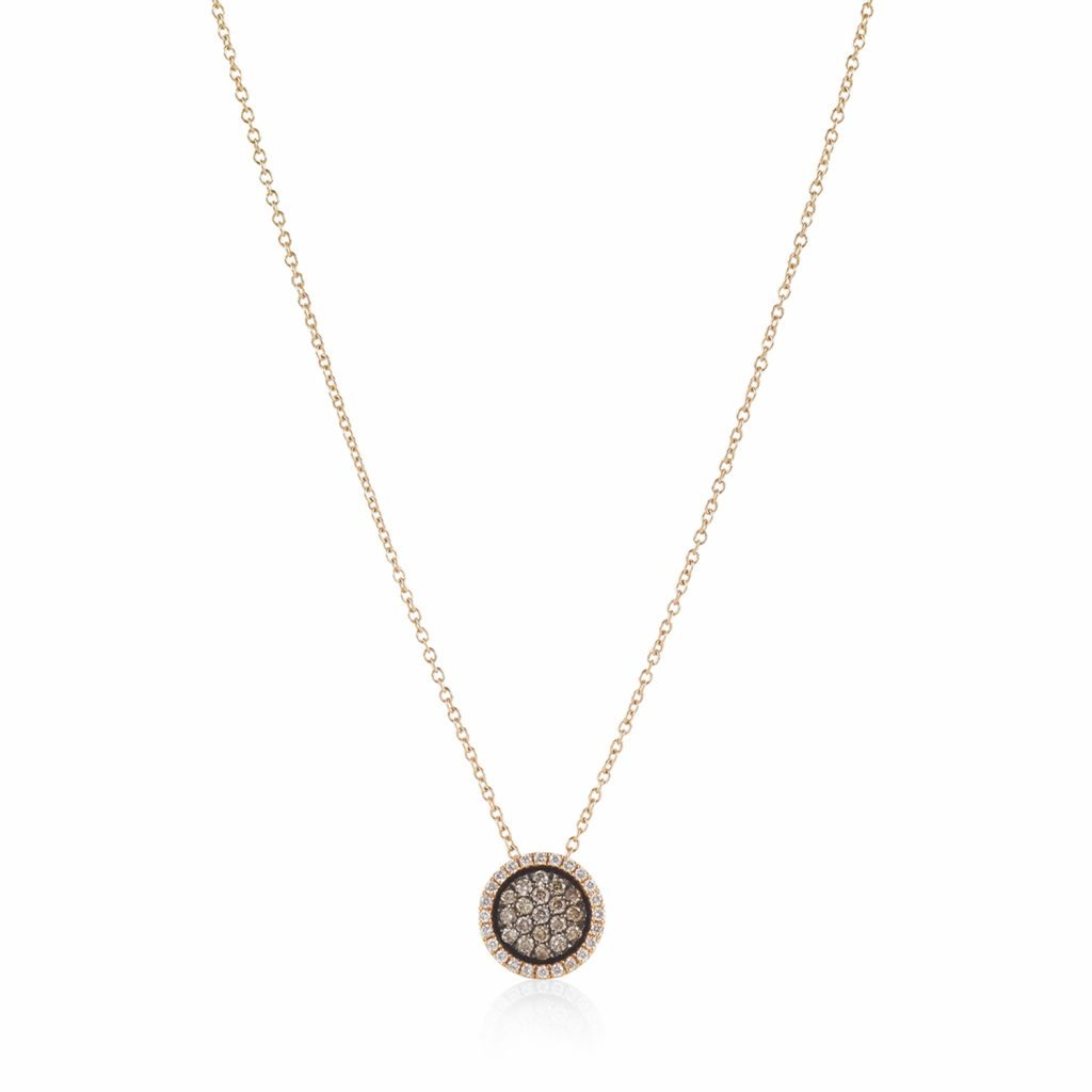 Venezia Rose Gold Small Pendant by Olivia Grace