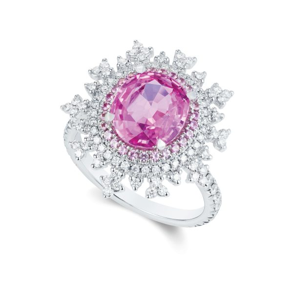 Tsarina Berry Flake Ring by Nadine Aysoy