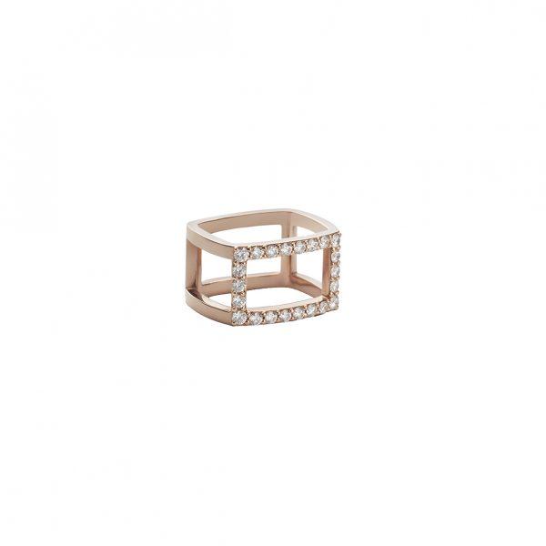 Tetra Ring by Sandrine de Laage