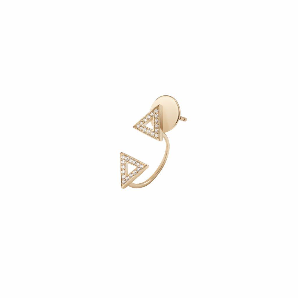 Toi et Moi Earring by Sandrine de Laage