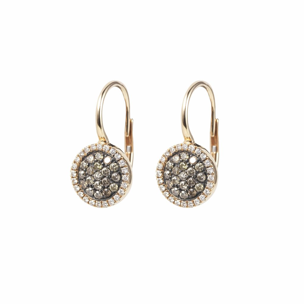 Venezia Rose Gold Drop Earrings by Olivia Grace