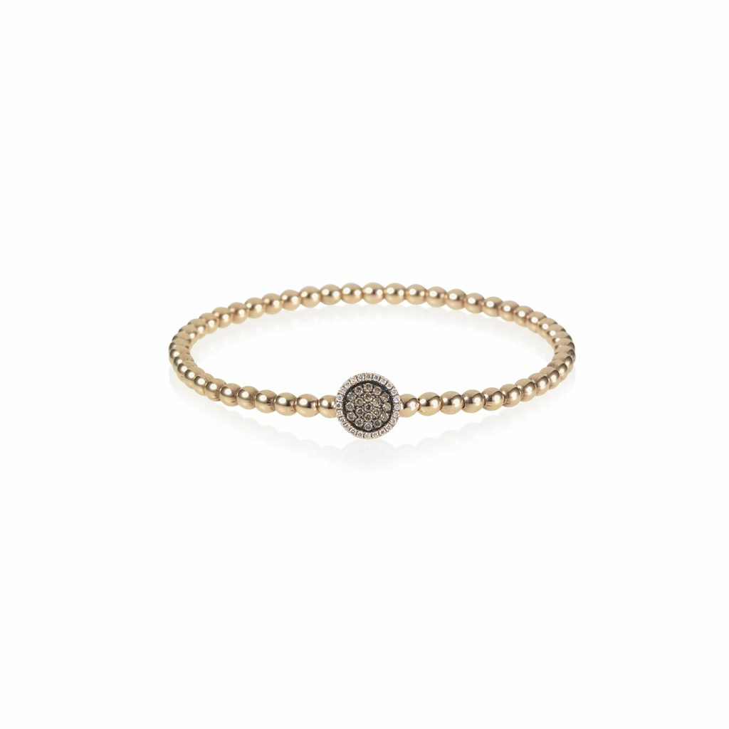 Venezia Rose Gold Flexi Bracelet by Olivia Grace