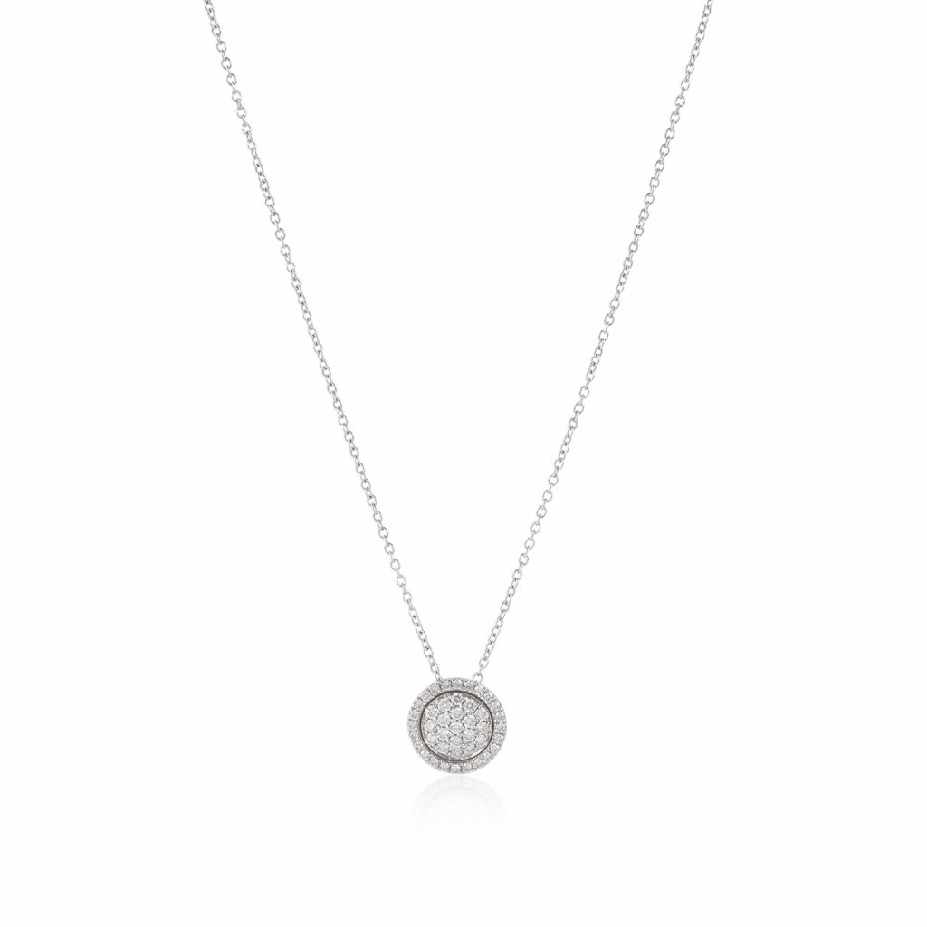 Venezia White Diamond Small Pendant