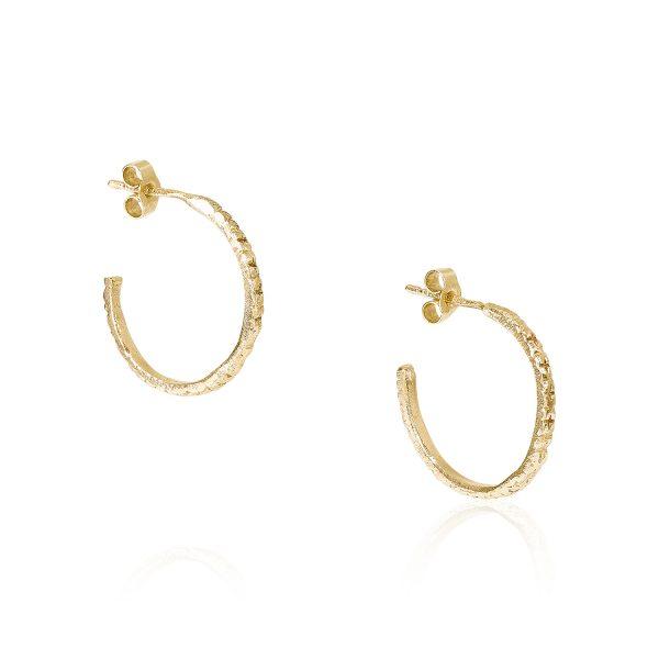 Antecedent Hoop Earrings