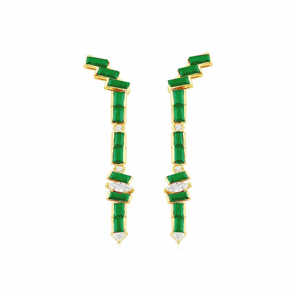 Seraphina Wing Earrings by GFG Jewellery
