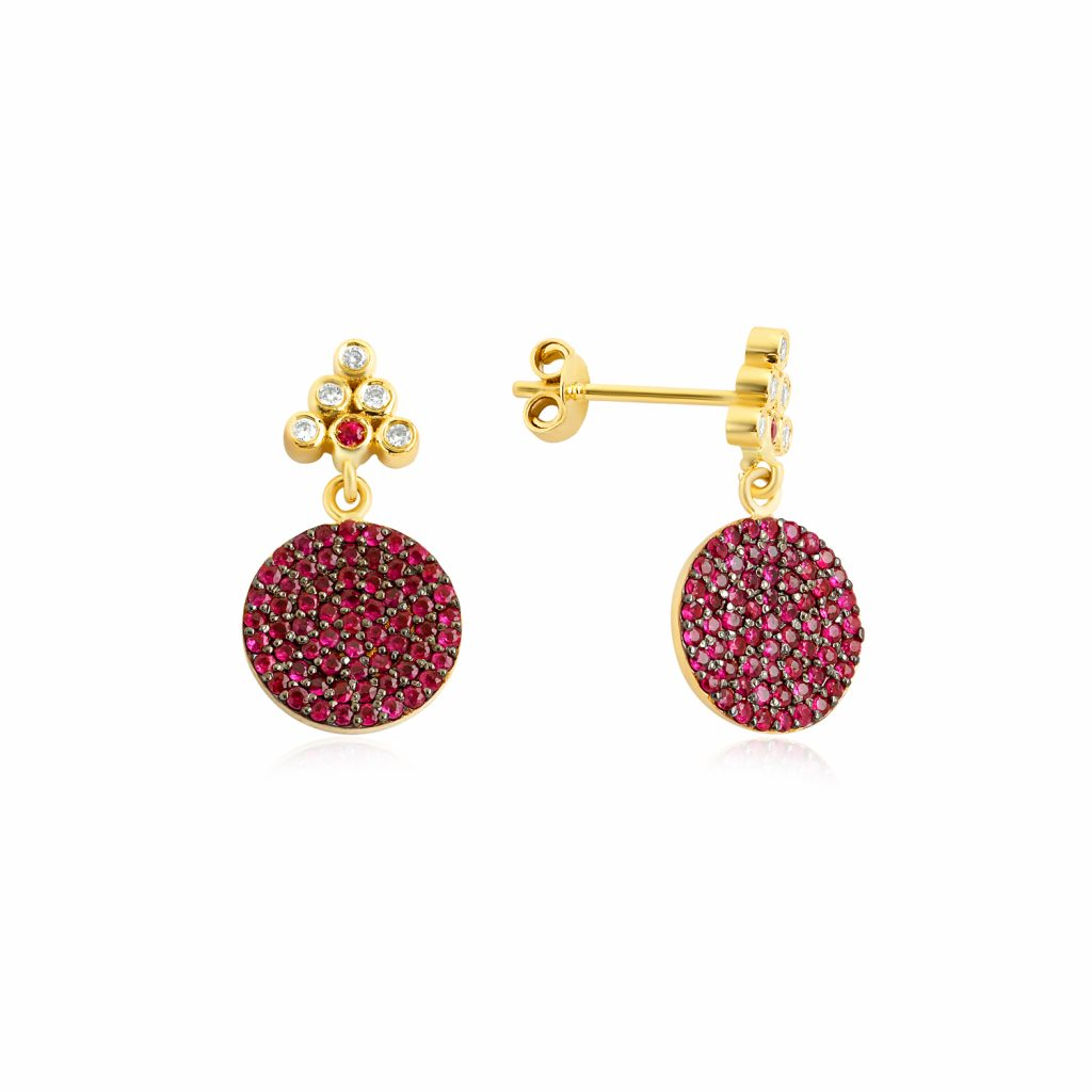 Seraphina Drop Earrings by GFG Jewellery