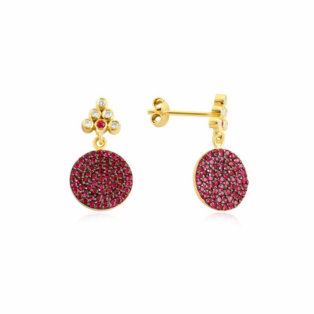 Seraphina Drop Earrings by GFG Jewellery