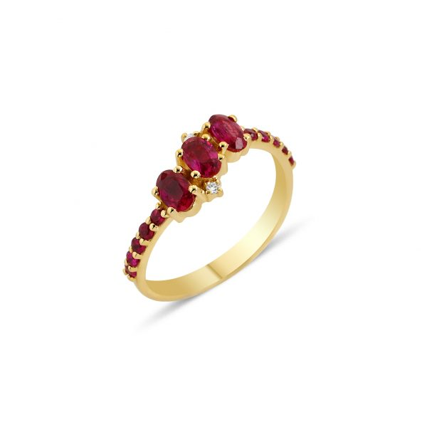 Seraphina Trio Ring by GFG Jewellery