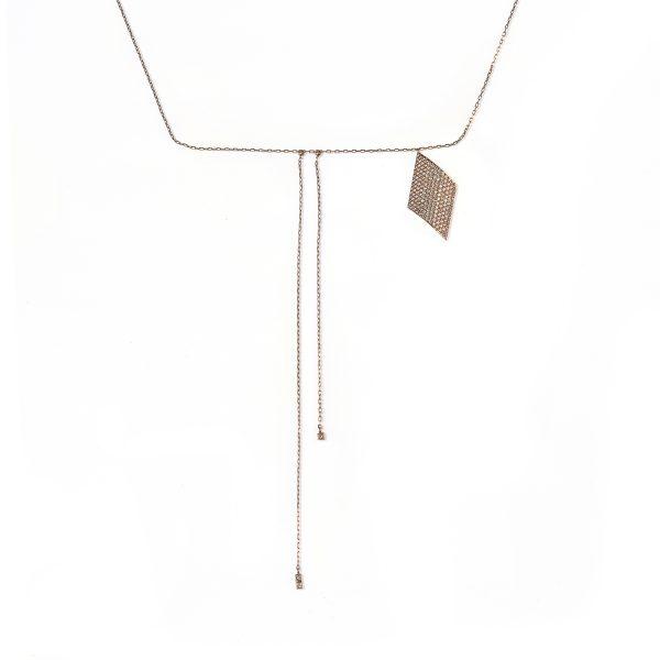 Rhombus Necklace by MyriamSOS