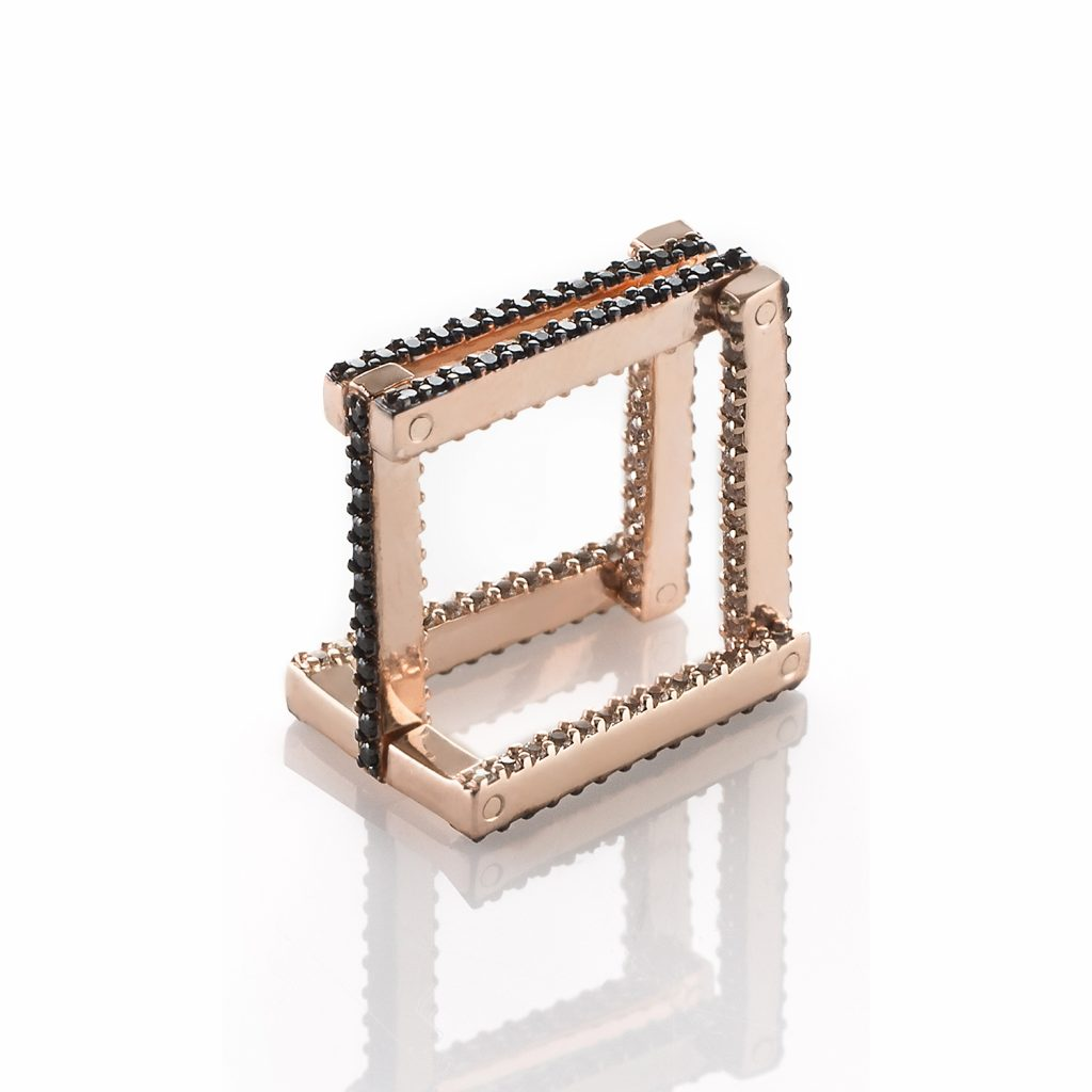 The In/Out Square Eternity Ring/Pendant