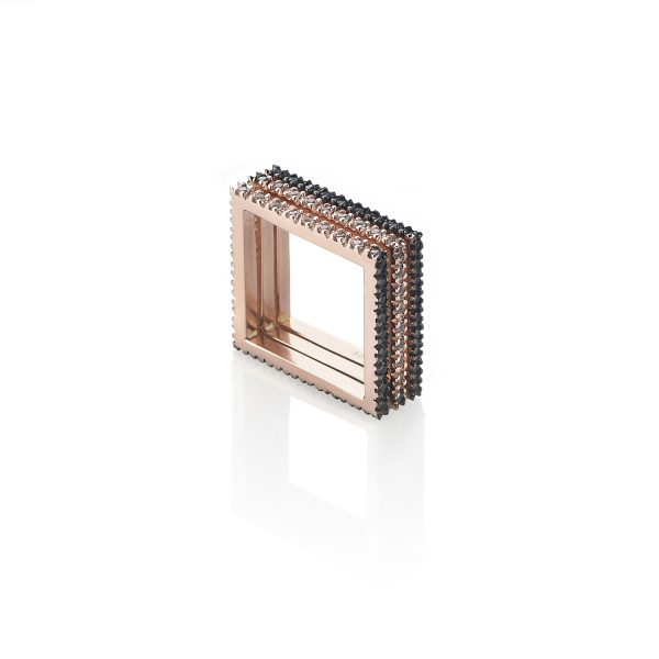 Square Eternity Ring by MyriamSOS