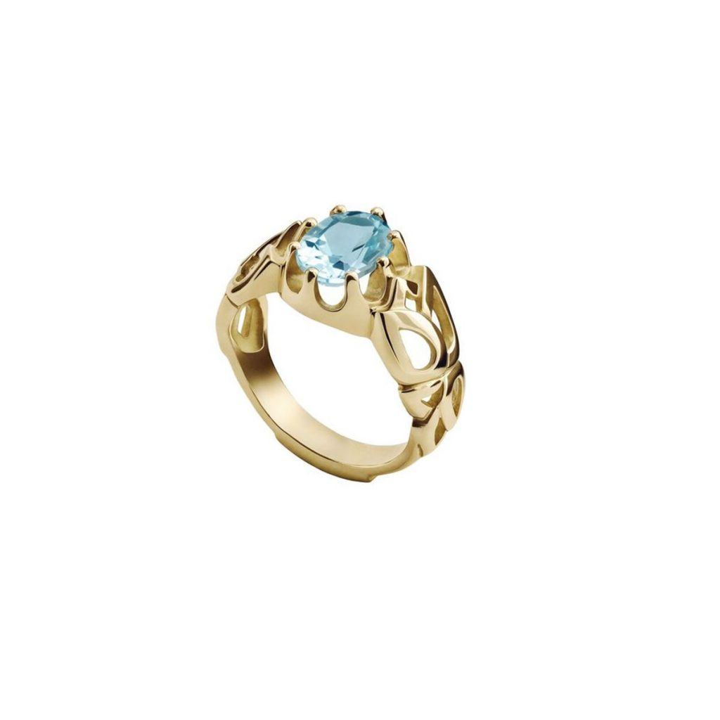 The Falahy Chevalier Ring by Azza Fahmy
