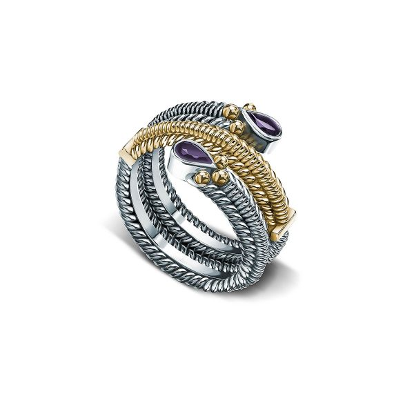 The Mabarim Ring by Azza Fahmy