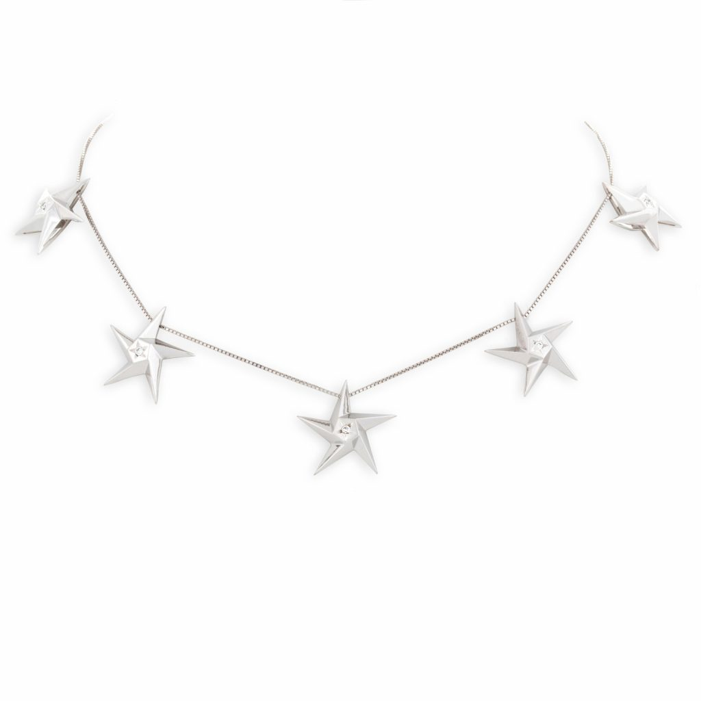 5 Star Necklace by Daou Jewellery