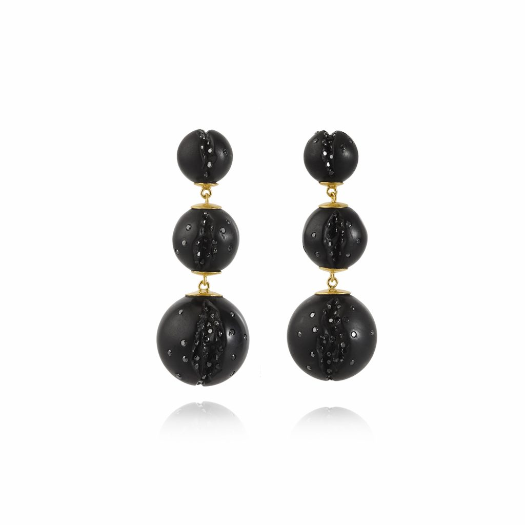 Atomic Mini Multi Cascade Earrings by Jacqueline Cullen