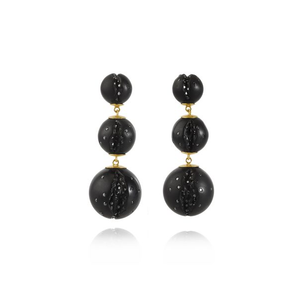 Atomic Mini Multi Cascade Earrings by Jacqueline Cullen