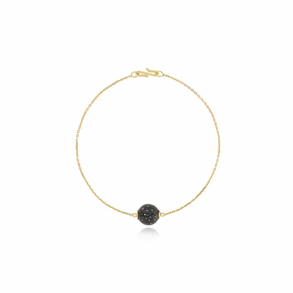 Atomic Single Sphere Bracelet by Jacqueline Cullen