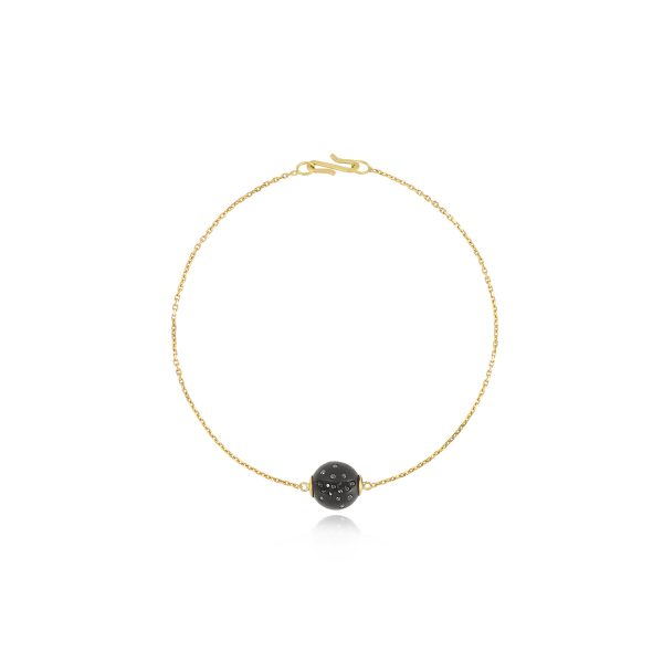 Atomic Single Sphere Bracelet by Jacqueline Cullen