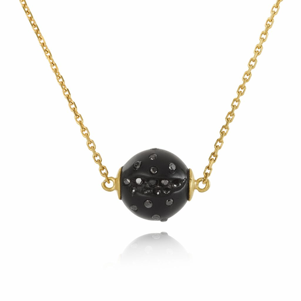 Atomic Single Sphere Necklace by Jacqueline Cullen