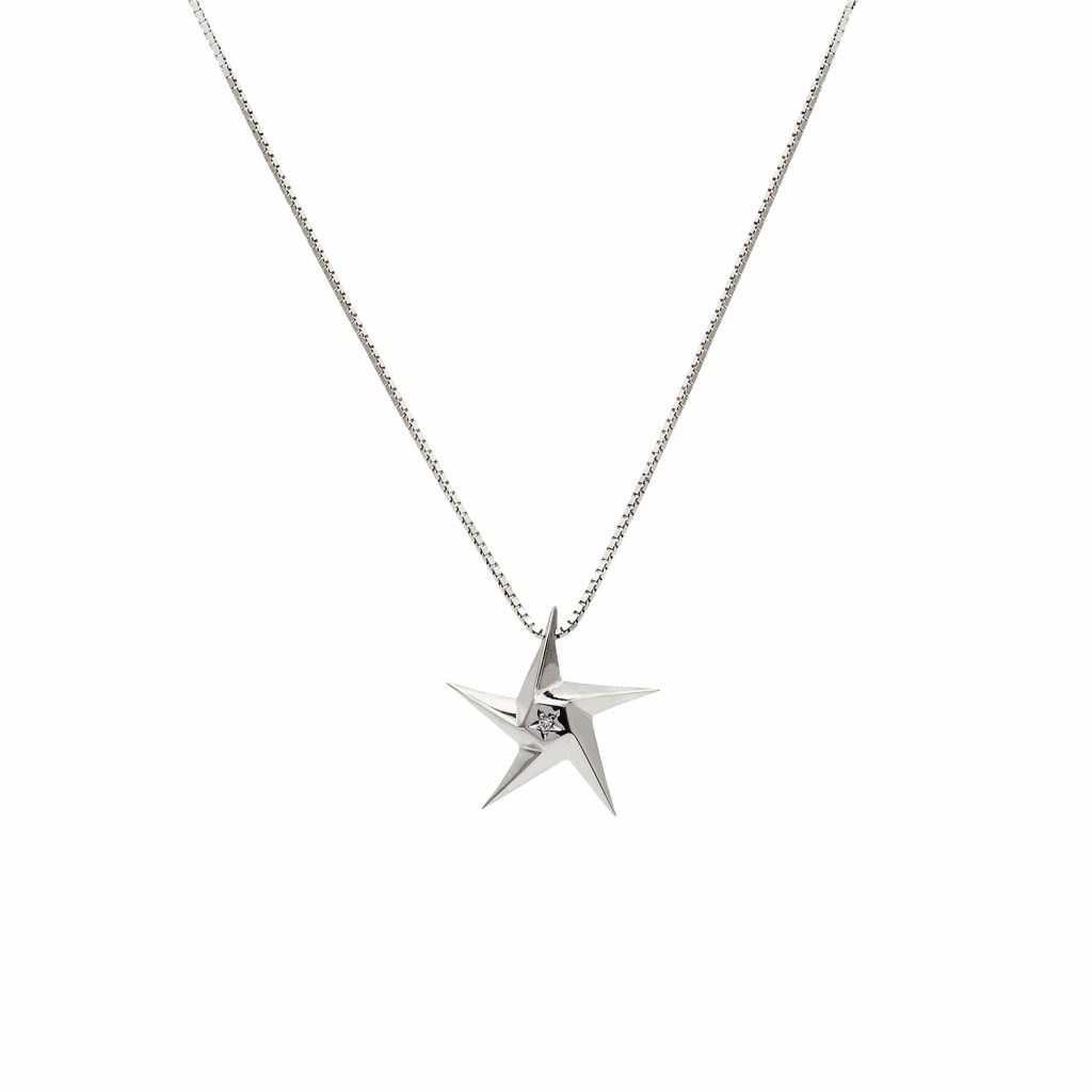 Little Star Pendant by Daou Jewellery