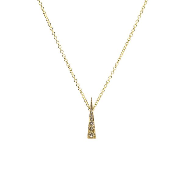 Spark Convertible Pendant – Champagne Diamond by Daou Jewellery