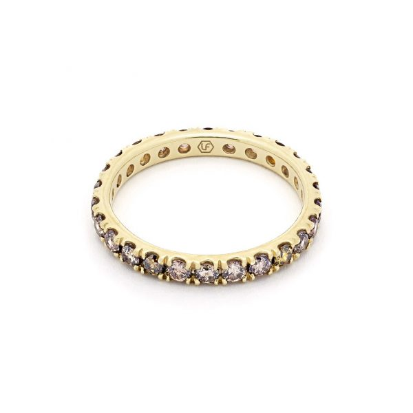 Sybil Diamond Eternity Band by Lola Fenhirst