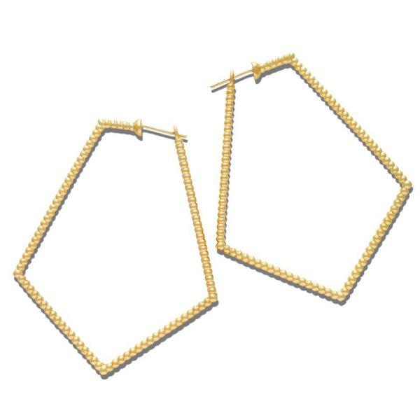 Sybil Pentagon Earrings by Lola Fenhirst