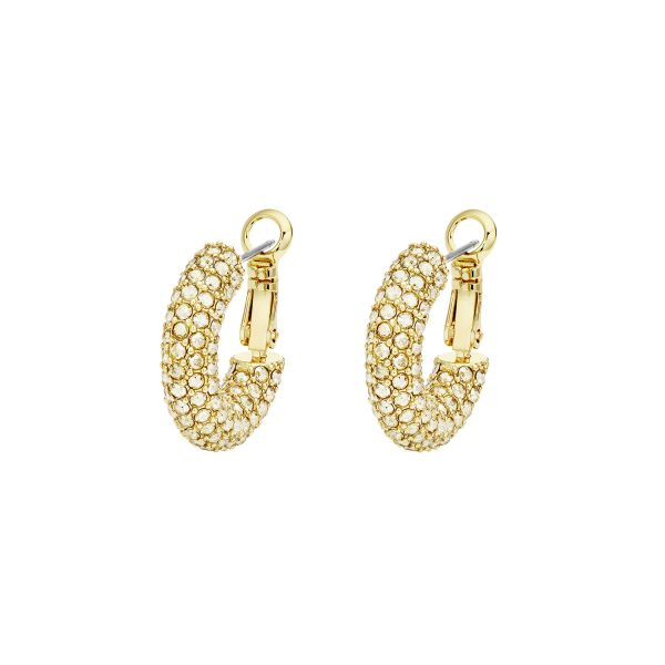 Bolster Small Hoop Earrings by Atelier Swarovski