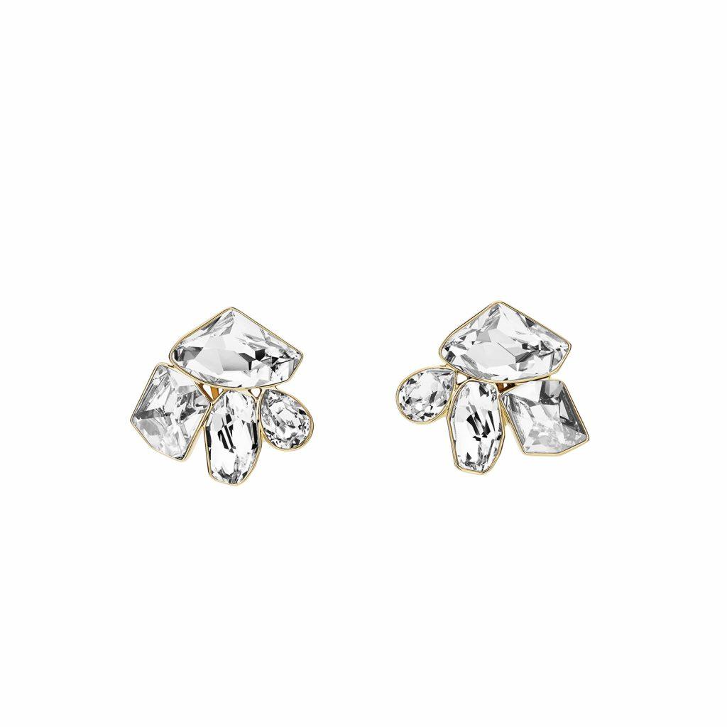 Mosaic Clip Earrings by Atelier Swarovski