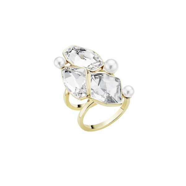Mosaic Double Ring by Atelier Swarovski