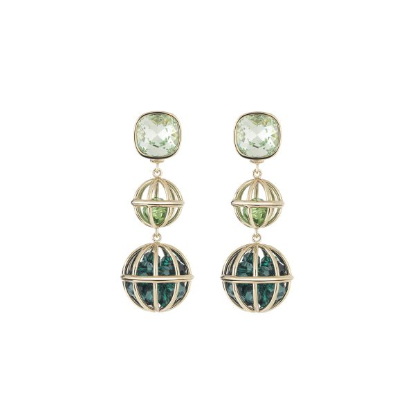 Nostalgia Double Drop Earrings by Atelier Swarovski
